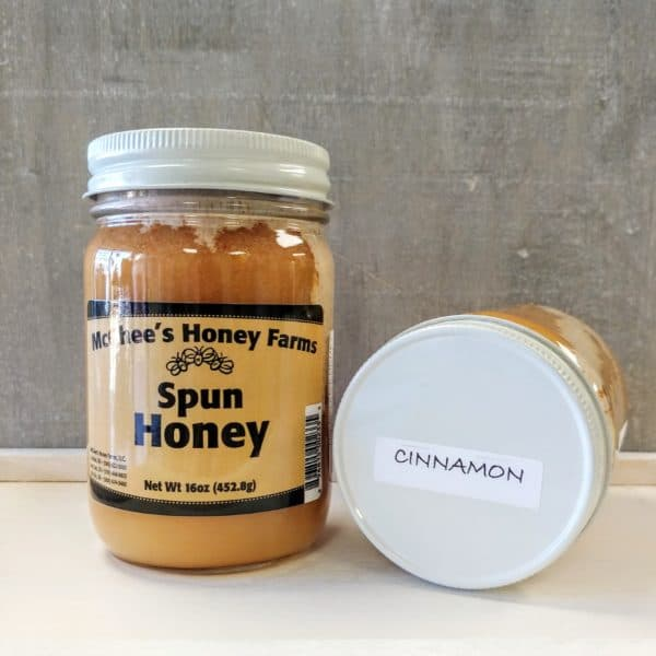 cinnamon spun honey