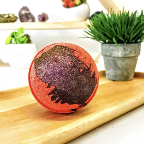 dragons blood bath bomb